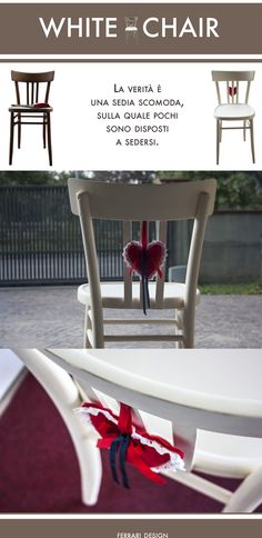 White Chair with heart