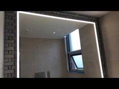 Lighted Mirror, Mirror With Lights, Bathroom Lighting, Furniture, Home Decor, Bathroom Light Fittings, Bathroom Vanity Lighting, Decoration Home, Room Decor
