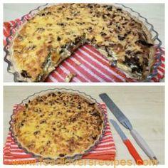 Food Lovers Recipes | DELICIOUS BILTONG QUICHEHEERLIKE BILTONG QUICHE
