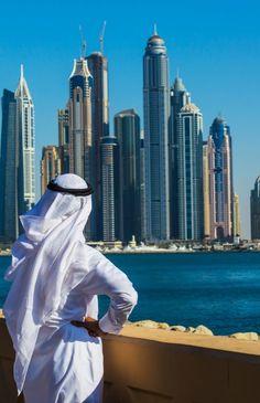 Dubai skyline from The Palm Jumeira Dubai City, Dubai Uae, Abu Dhabi, Tolle Hotels, Dubai Architecture, Skyline, Belle Villa, Sharjah, United Arab Emirates