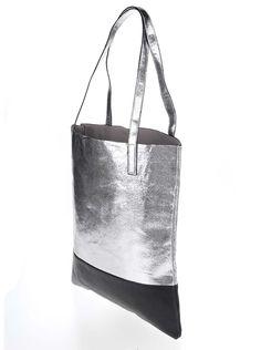 Geantă argintie casual cu barete lungi Tote Bag, Casual, Bags, Fashion, Purses, Moda, Fashion Styles, Tote Bags, Taschen