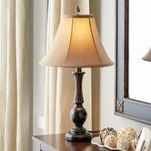 "Found it at Wayfair - 24"" H Table Lamp with Bell Shade"
