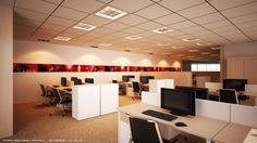 Swiss Bureau Interior Design - Designed - UPL offices - Dubai, UAE