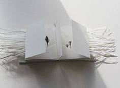 I love the cut paper in this book by Sarah Mitchell