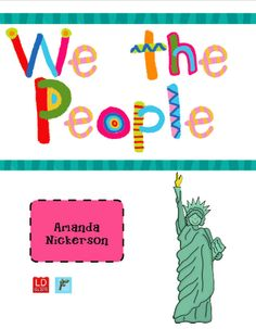 What a great resource for constitution day!