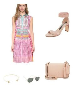 Keep your accessories really simple and neutral to let this dress really shine! So gorgeous for spring!