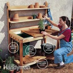 You don't need any special woodworking skills to build this handy gardener's bench in a weekend. We'll show you how!