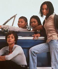 Vivica A. Fox, Jada Pinkett Smith, Queen Latifah and Kimberly Elise in Até as Últimas Conseqüências (1996)
