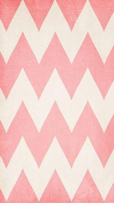 Zig zag pink wallpaper