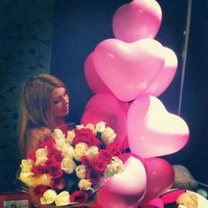 Balloons & roses Gifts For Her♥