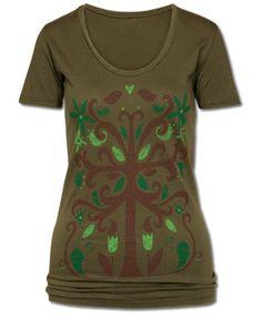 SoulFlower-SALE! Symmetree Organic T-Shirt-$15.00