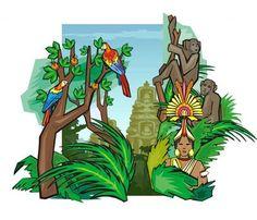 Kant en klare speurtochten: Jungle speurtocht: het junglemysterie