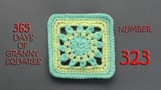 365 Days of Granny Squares Number 323