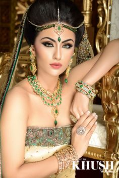 How #beautiful is this #jewellery by Divas collections find out more about this piece and lots more:  196 ILFORD LANE, ILFORD, IG1,2LJ 07411 416 326 sobhmir@hotmail.com  #Hair & #Makeup: Summaya MUA #Outfit: Seema Silk Sarees #Props: Majestic Events & Decor