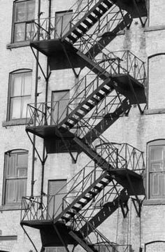 My dad actually welded these stairs together when he was in his Largest Countries, Cool Countries, Black And White Colour, Black And White Pictures, Western Canada, Home Of The Brave, Interesting Buildings, Quebec City, Southeast Asia