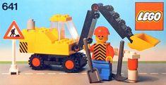 LEGO 641 - Baggerfahrer (1978)
