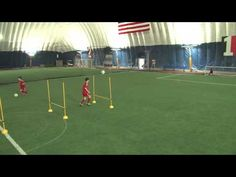 U12 Soccer Drills - Shooting and Agility