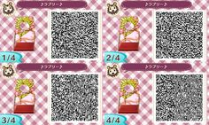 Animal Crossing QR codes : Photo