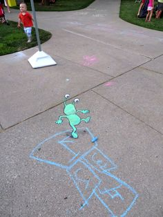 chalk art by david zinn - Google Search