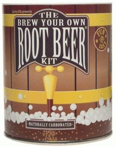 The Brew Your Own Root Beer Kit - Make 1 to 4 gallons of delicious old fashion root beer naturally carbonated with real yeast and bottled in recycled plastic soda bottles. -- There is absolutely nothing like a refreshing gulp of home-brewed root beer. This easy to use kit lets you brew up a goodly batch you're sure to enjoy. Makes a great project or a perfect birthday gift. -- Includes: 2 oz. root beer extract, special brewing yeast, funnel, project guide, blank labels, storage container…