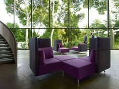 Sopha collaborative seating by Sedus from Fuze Business Interiors #officedesign #collaboration