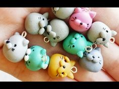 Chubby Cat Polymer Clay Tutorial - YouTube