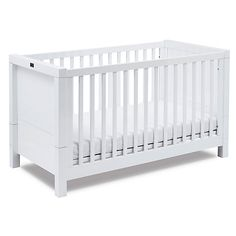 Buy Silver Cross Notting Hill Cotbed, White Online at johnlewis.com £350