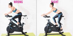 Indoor Cycling Mistakes - 20 Ways You're Indoor Cycling Wrong.very helpful for our next class, Spin Bike Workouts, Peloton Bike, Indoor Cycling, Cycling Art, Bike Indoor, Cycling Tips, Cycling Jerseys, Cycling Shorts, Spinning Workout