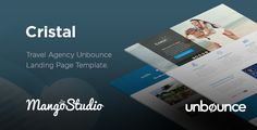 Cristal - Travel Agency Unbounce Template