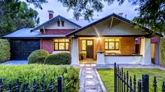 A Beautiful living style at  : 38 Cremorne Street, Fullarton - Au A 1920s bungalow with character features throughout including ornate high ceilings, leadlight features, polished floorboards, and fireplaces. It's set on a 497sqm block and features three bedrooms, two renovated bathrooms and a gourmet kitchen with speckled granite black granite bench tops and European appliances.