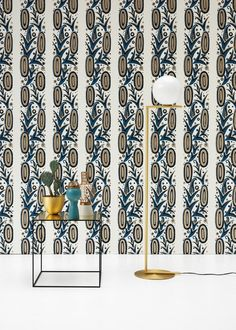 Papier peint Shand - Liberty Art Fabrics Interiors chez Edmond Petit - Marie Claire Maison
