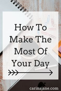 How to make the most of your day: find out five easy ways you can be more productive no matter what you do! #productivity #timemanagement #getstuffdone