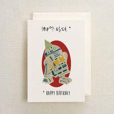 Chewbacca birthday card chewbacca birthdays and etsy r2d2 birthday card bookmarktalkfo Choice Image