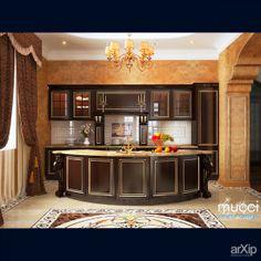 Дизайн кухни-гостиной: интерьер, квартира, дом, эклектика, 50 - 80 м2, студия #interiordesign #apartment #house #eclectic #50_80m2 #studio #atelier