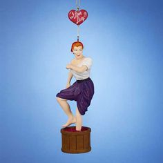 New for 2014! | I Love Lucy Grape Stomping Ornament | LucyStore.com, $9.95