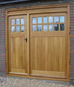 oak garage doors UK