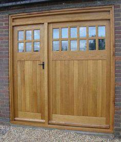 oak garage doors UK