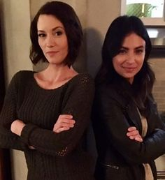 """But let me recap briefly for you in case you have made the huge mistake of not watching this show. This is Alex Danvers and Maggie Sawyer (played by Chyler Leigh and Floriana Lima). 