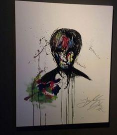 Jungkook is canvas.By lolipop. Pencil Drawings, Art Drawings, Paintings Tumblr, Bts Wings, Art Sketchbook, Bts Jungkook, Bangtan Bomb, Taehyung, Bts Wallpaper