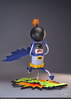 Volatile Vertex' amazing work, mixing the universes of Batman and Adventure Time. Here comes his latest creation, that more than ever deserves to be a real thing !