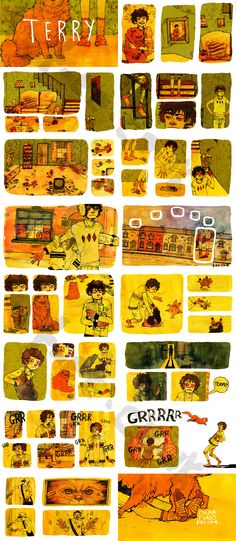 Narrative Art- use comic books as example. Character or brother/sister person they would want to give it to and a day in their life.