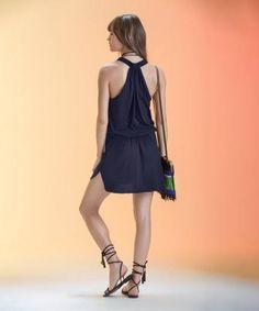 Sofia Blue Dream Sally Short Dress   Vix Paula Hermanny