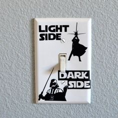 Show them the path back to the light. | 21 Wonderfully Geeky Ways To Create The Perfect Star Wars Nursery