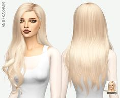missParaply 'Anto Kashmir' Hair Retexture/ Mesh Not Included. The Sims 4 CC