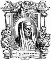 Giotto di Bondone, forse diminutivo di Ambrogio o Angiolo, conosciuto semplicemente come Giotto (Vespignano, 1267 circa – Firenze, 8 gennaio 1337), è stato un pittore e architetto italiano.