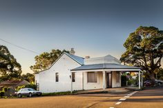 Corner of Annandale & Wisdom Streets Sydney, Corner, Cabin, Mansions, Street, House Styles, Outdoor Decor, Nostalgia, Shops