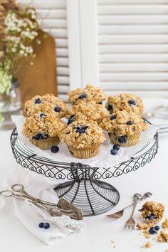 Blaubeer Streusel Muffins Vol.II - KüchenDeern