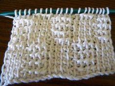 Lots of Crochet Stitches by M. J. Joachim: Tunisian Basketweave Pattern 102212