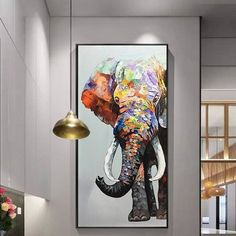 Animal Original Elephant acrylic Paintings On Canvas heavy textured Extra Large nursery decor Wall pictures Home Decor palette knife painted Beschreibungen *** * Titel: Elefant-Acryl-Malerei * Rahmen: Es gibt zwei Arten: Nur oder innere Kei Nursery Wall Art, Wall Art Decor, Nursery Decor, Room Decor, Acrylic Painting Canvas, Painting Frames, Acrylic Painting Animals, Painting Walls, Acrylic Art