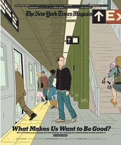 The New York Times Magazine, Jauary 13, 2008 by Adrian Tomine